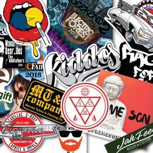Non Laminated Vinyl Stickers