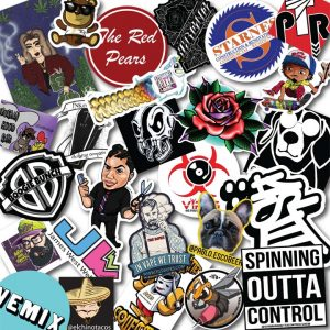 Laminated Vinyl Stickers