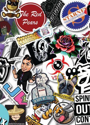 Laminated Vinyl Stickers